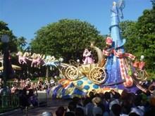 迪士尼的游园表演