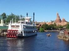 迪士尼游乐园一角