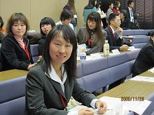获得大会第二名的博士研究生 苏瑞萍