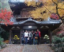 景色优美的龙福寺